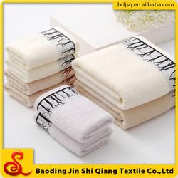 100% Organic cotton solid color bath towels for whole sale