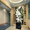 JY-JH-BH01-A high quality glass mosaic tile 3d flower pictures chinese wallpaper mural wall mural artist