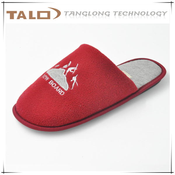 man slippers with soft sole for indoor wearing
