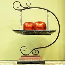 Metal & Resin Fruit Basket Holder Hot Selling Arts Craft