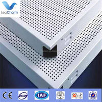 aluminum perforated decorative material for mobile home ceiling panel