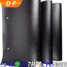 Thermo-sensitive embossed pvc leather for book cover, phone case