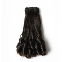 VV 100% Raw Unprocessed Virgin Hair Natural Black Brazilian Human Hair Extension