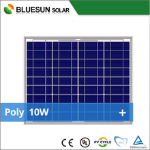 25 years warrantly poly 10W mini solar panel toys from china Bluesun