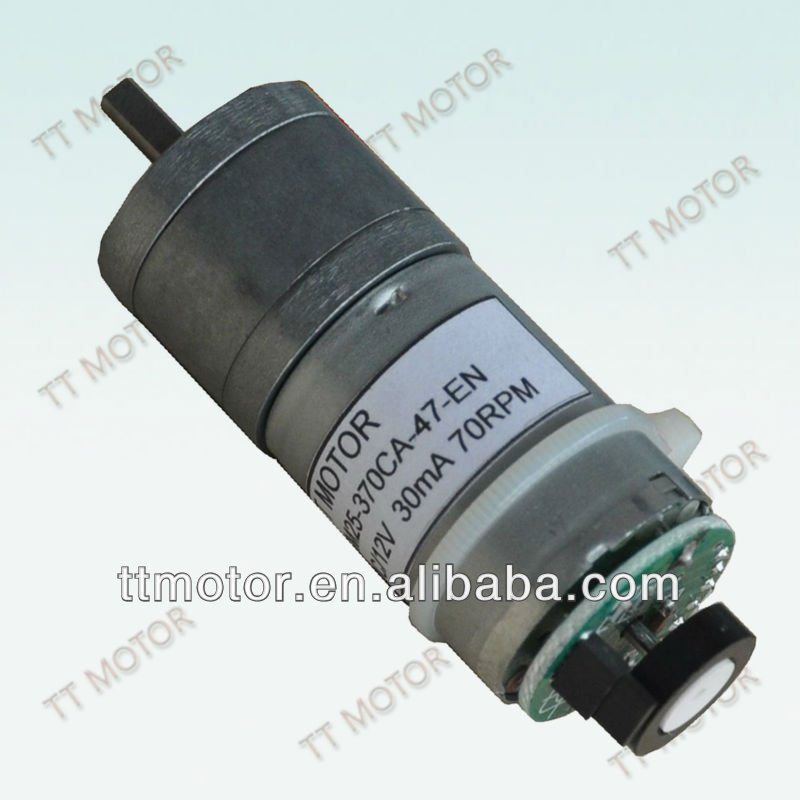 25mm dc gear motor with encoder buy dc gear motor dc 12v for Dc gear motor with encoder