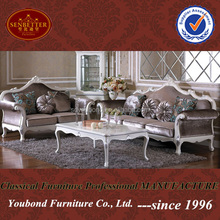 YB07 Italian design solid wood neo-classic furniture new model sofa sets pictures