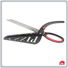 New Stainless steel pastry nonstick scissors slicer pancake plastic Pizza Cutter