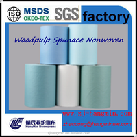 High quality Woodpulp Spunlace Nonwoven ,Nonwoven textile and fabrics manufacturer