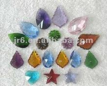 Pequeña bola de cristal& cuentas de vidrio de cristal de centros de mesa