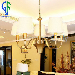5 Lights Gold Antique ,French Empire Chandelier