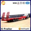 gooseneck truck trailer/50t low bed lowboy truck trailer to Burundi