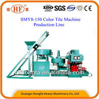 Good Quality Low Price Easy Operate Multifunctional Color Tile/Brick/Brock Forming Machine