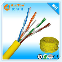 Excellent Quality bare copper utp Ethernet cat5e cable 305m/1000ft roll