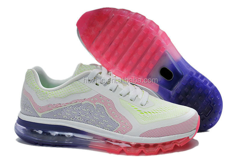 make your own running shoes with bright color for men 2014