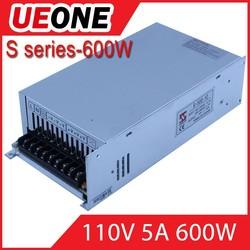 Industrial 110V 600W AC DC power supply110v5A 600w led power supply