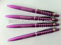 hot sale promotion ball pen with customized logo 1000pcs free shipping