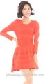 2015 nueva moda vestido de punto