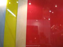 High Quality Exported Standard high gloosy UV coated melamine mdf