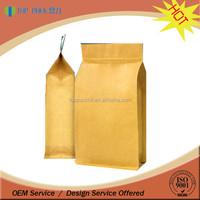 Aluminum Foil Flat Bottom Brown Paper Bags