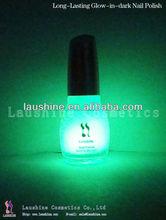 Glow in the dark nail polish luminous organic natural soak off nail polish