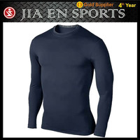 custom printing compression shirt long sleeve armour shirts wholesale under $10