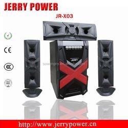 JR-X03 bluetooth speaker portable wireless car subwoofer 3.1speakers subwoofer