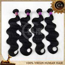 Unprocessed body wave hair cuticle hair wavy wholesale virgin malaysian hair