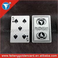 wholesale cheap high quality personalized poker card hot sell in United States