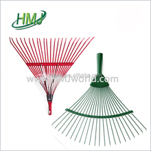 High quality beautiful new design plastic garden leaf rake wholesale