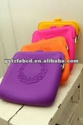 2012 Double Use Silicone Fashion Shoulder Strap Bags