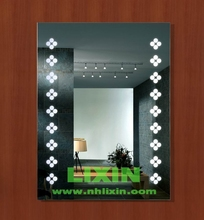 fogless mirrrors case inside with lamp ,mirror sets,wall mirrors