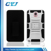 2013New Design three in one silicone phone case for Samsung note3