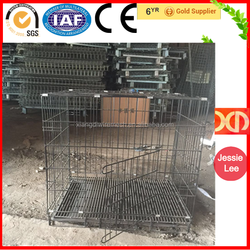 China Wholesale Welded Wire Large Stainless Steel Dog Cages For Sale Cheap