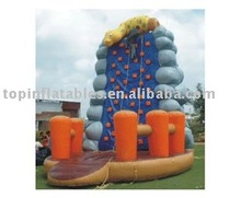 Inflatable climbing,inflatable sport game,inflatable climbing rock