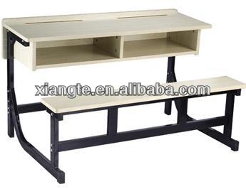 gros mode double bureau et banc en mobilier scolaire bureau et une chaise cole occasion. Black Bedroom Furniture Sets. Home Design Ideas