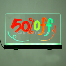 2015 Factory Promotion Magic Writing Board Super Brilliant Low Power Consumption LED Advertising Sign Rewritable Digital Notice