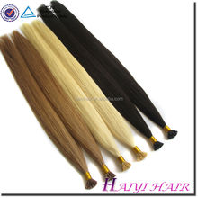 Direct Factory Last 12 Months Double Drawn Italian keratin remy indian i tip aaaa
