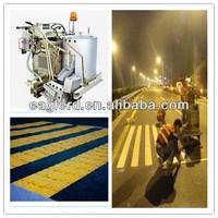 Raising line thermoplastic Road marking paint applicator