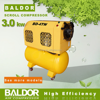 China Factory Direct Supply BALDOR 3KW BD-4TW Belt drive Air Scroll Compressor