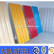 blue roman mix color heat insulation metal corrugated roof sheet