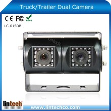 30 Pcs IR LED For Bus Tractor Van Trailer Twin Lens Ccd Night Vision HD Car Reversing Camera