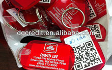 Wholesale engraved and printing qr code id pet tags scannable by your smart phone Sample FREE