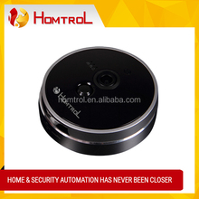 Temperature Sensor with Alarm Push Notification Wifi Network Cube IP Camera for Home Security Baby Monitor Cam