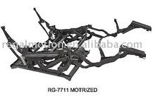 Motorized recliner mechanism
