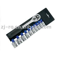 "11 PCS 3/8""dr.Socket Set With Ratchet Wrench"