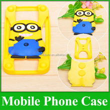 Cute Wholesale Cell Phone Case Custom 3D Soft Universal Silicon Case for All Phones Cartoon Mobile Phone Cover Animal Back Cover