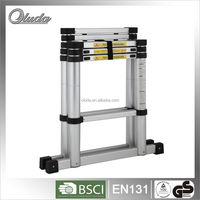 aluminum step ladders with EN131, combination ladder with folding