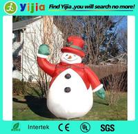 Happy new year custom design giant christmas inflatable snowman