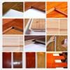 WPC Composite outdoor DIY deck tile teak wood flooring price