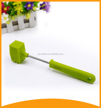factory food grade meat tenderizer and rubber mallet hammer with plastic handle